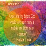 GPH Patience quote